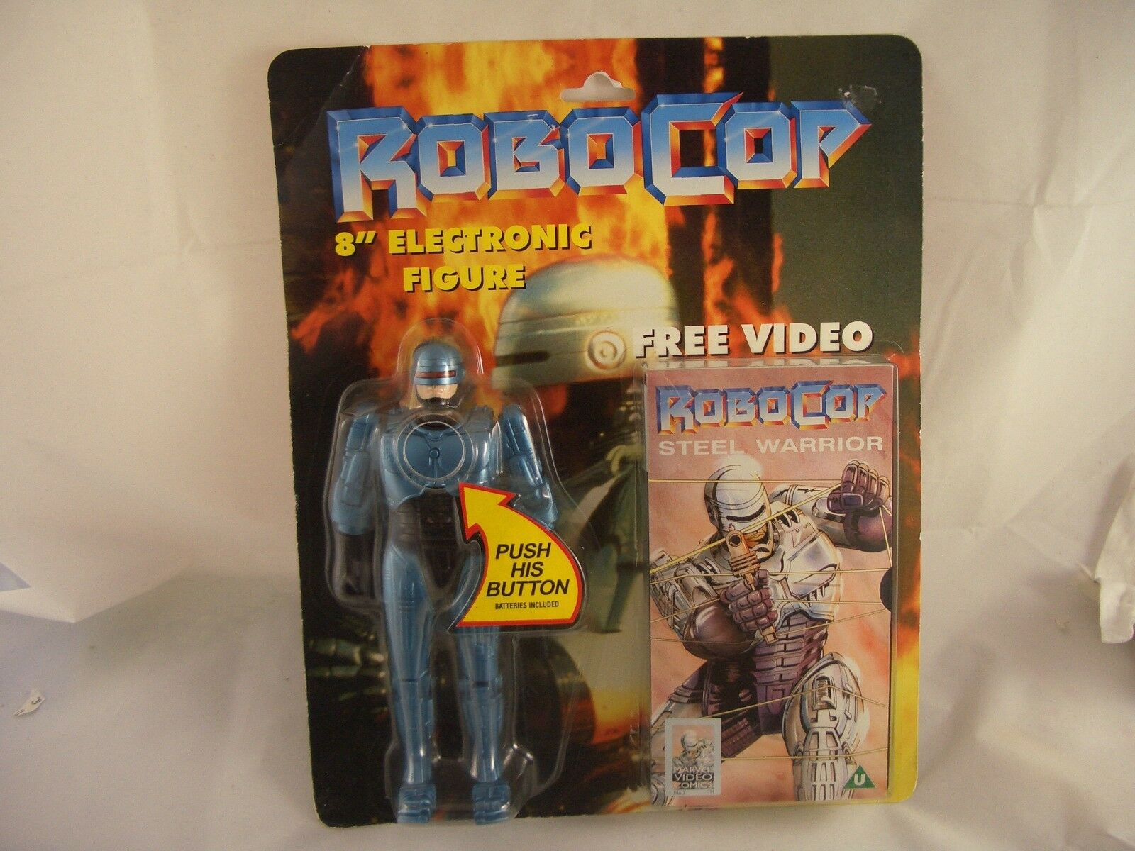 Robocop Electronic Toy Island Action Figure and Video