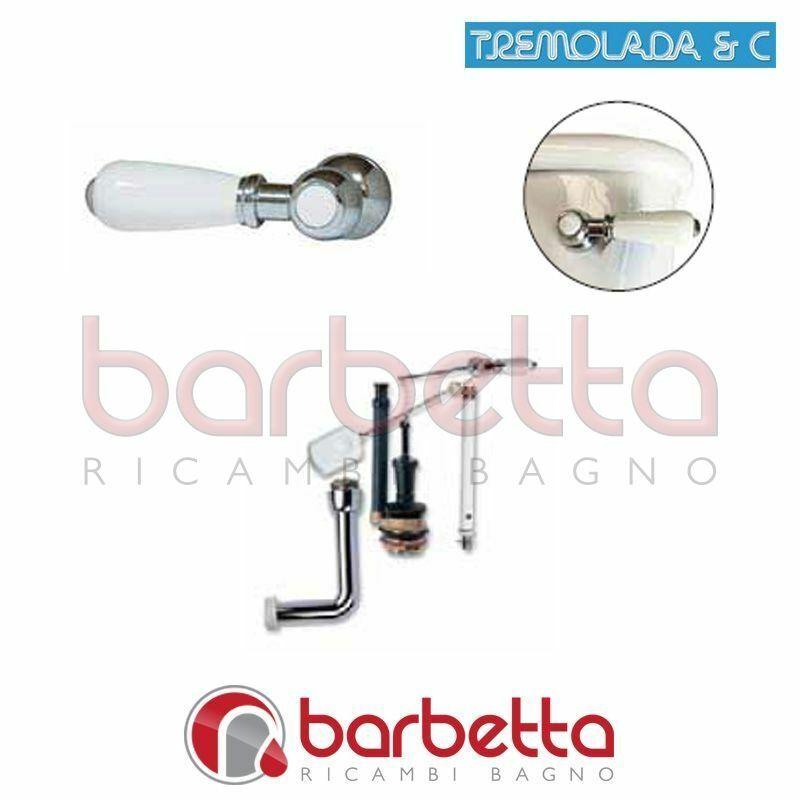 MANIGLIA FRONTALE PER BATTERIA DI SCARICO TREMOLANDA 56LUX.05.20A