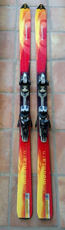 Salomon SuperMountain Flame oversized parabolic 178cm All Mountain powder skis
