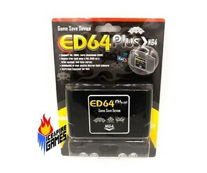 New-PAL-NTSC-N64-ED64plus-Game-Save-Device-N64-Enhanced-Version