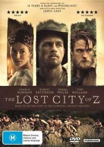 The-Lost-City-of-Z-DVD-NEW-Region-4-Australia