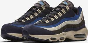 Nike Air Max 95 Premium Blackened BlueCamper Green 538416 404