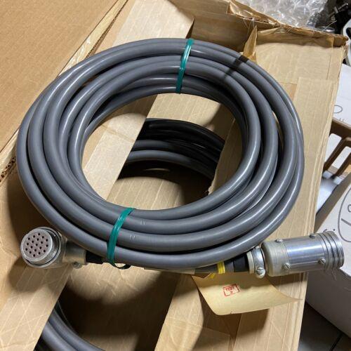 Data Cable 25ft 25' Belden 9254 Wire ITT Cannon 19 Pin Connectors NOS