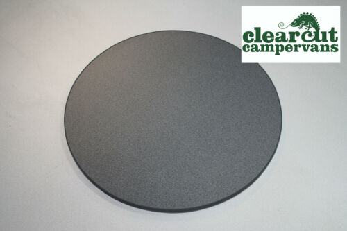600mm ROUND//CIRCULAR CAMPERVAN TABLE TOP MOTORHOME TABLE TOP DARK GREY