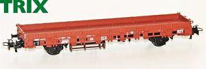 Trix-H0-21532-3-Rungenwagen-Rlmms-58-der-DB-NEU