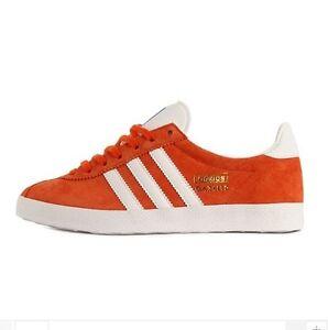 adidas orange gazelle og trainers nz