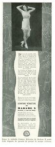 Publicite-ancienne-ceinture-reductive-de-madame-X-1930