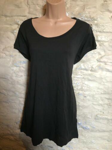 BNWOT new look black jersey top plus size  18 20