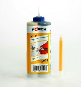 19-75-100g-2K-Kleber-Foerch-2K-Speed-Kunststoffkleber-Mischer