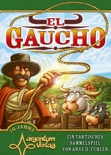 El Gaucho, Boardgame by Argentum Verlag, New, English Edition