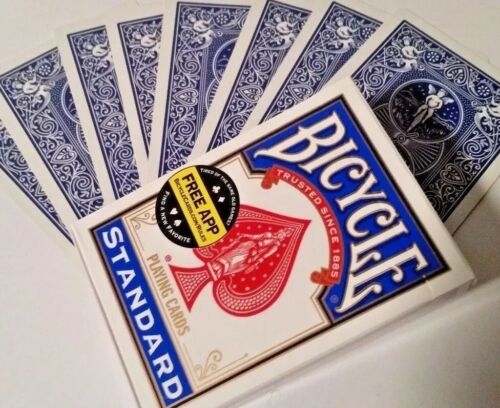 brand new trick SVENGALI DECK Blue backed Magic Cards bicycle as seen on TV