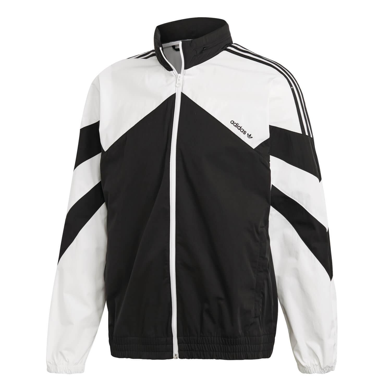 Adidas Windbreaker Palmeston Windrunner Σακάκι Ξ'Ξ½Ξ΄ΟΟŽΞ½ Μαύρο Άσπρο DJ3450