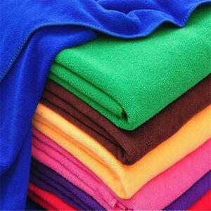 25x25cm-Microfiber-Towel-Compact-Absorbent-Sport-Travel-Bath-Car-Outdoor-Gym-bx