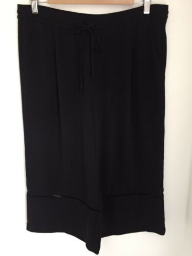 Skirt Large Culottes Size Divided Black Zara fUqHx