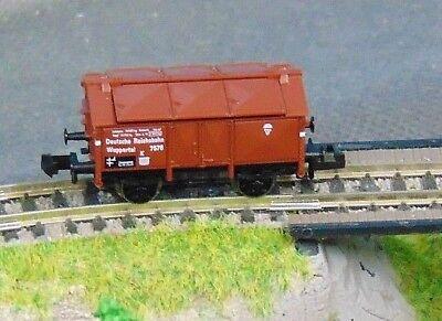 "Fleischmann 8213 Drg ""wuppertal"" Lidded Wagon ""boxed"" N Gauge Toys & Hobbies f04"