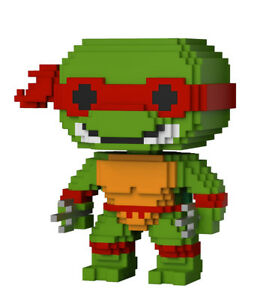 Teenage Mutant Ninja Turtles Raphael Pop! 8-Bit Vinyl Figure