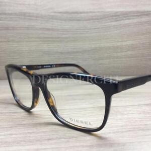 9be89873b779a0 Image is loading Diesel-DL5183-5183-Eyeglasses-Black-Havana-005-Authentic-