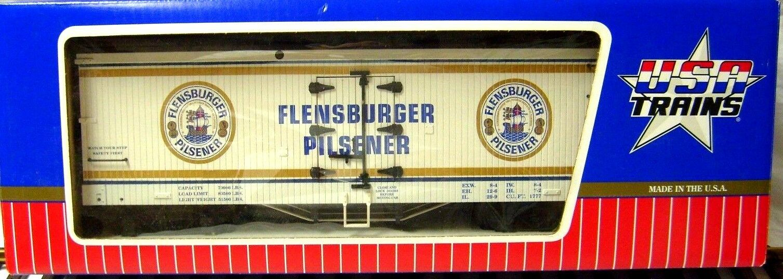 USA TRAINS R16371 FLENSBURGER PILSENER REEFER          NEW