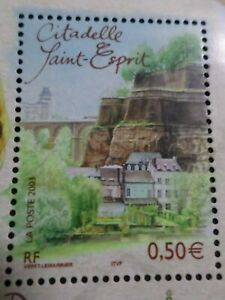 FRANCE-2003-timbre-3625-CAPITALES-EUROPEENNES-LUXEMBOURG-SAINT-ESPRIT-neuf-MNH