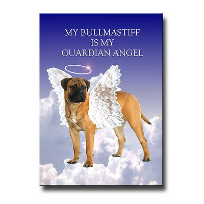 BULLMASTIFF House Is Not A Home FRIDGE MAGNET No 1 DOG