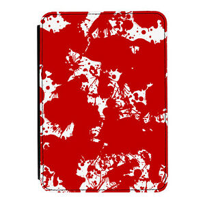 Blood-Splatter-Zombie-Funny-Kindle-Paperwhite-Touch-PU-Leather-Case-Cover