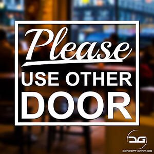 Image Is Loading Please Use Other Door Home Business Window Wall