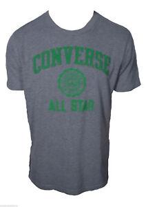 e3cc45c162 T-shirt Converse All star Maglietta Manica Corta 100%Cotone Grigio ...