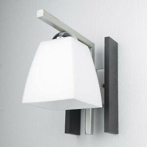 Schöne moderne Wandleuchte E27 Weiß Wandlampe NEU Wand Leuchte Beleuchtung