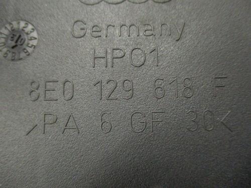 Tourelle AUDI s4 b6 8e 4.2 v8 8e0129618f mécanique Filtre à air encadré