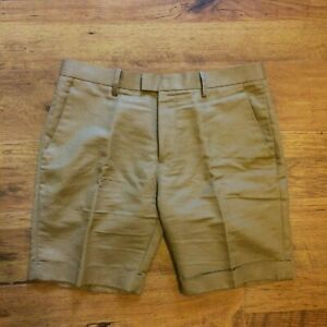 H&M Tailored Pleated Chino Shorts