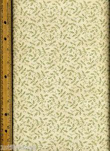Madeira Quilt Quilting Fabric by half yard 2604 14 green cream ... : madeira quilt - Adamdwight.com