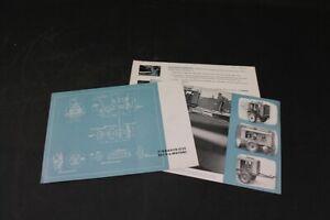 Age Print Einbauskizze Eifel Motor Advertising Vintage Collector