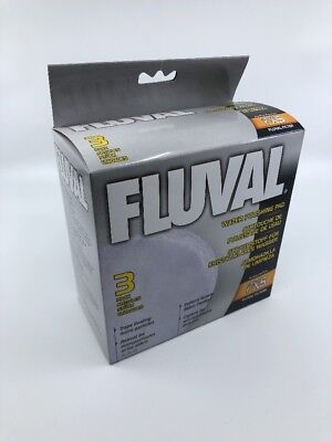 Limited Edition 3-Pack Fluval FX5 Fine Filter Polishing Pad Pet ...
