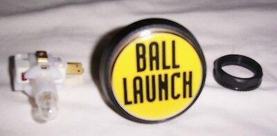 Data East Star Trek 25th Pinball Machine Launch Ball Button 500-5410-02 New!