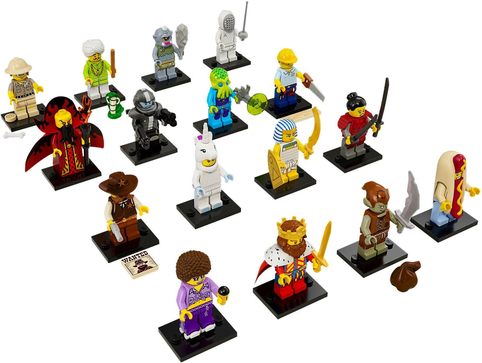 NUOVO LEGO 71008 completa set di 16 MINI PERSONAGGIO SERIE S 13