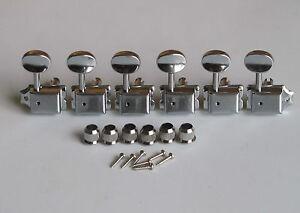 Split-Shaft-Vintage-Guitar-Tuning-Keys-Pegs-Guitar-Tuners-Machine-Heads-Chrome