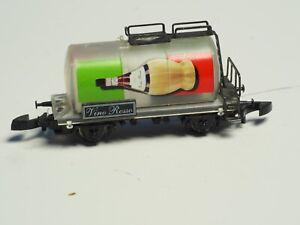 Marklin-Z-scale-Tank-car-Chianti-Wine-Italian-transparent-car-Sp-Ed