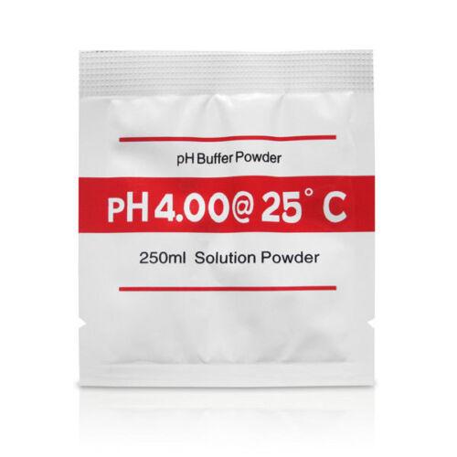 pH Meter Buffer Solution Powder 3 Piece Set Calibration PH Water Quality Tester