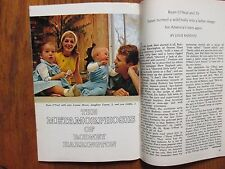 Feb. 12, 1966 TV Guide(RYAN  O'NEAL/JOANNA  MOORE/TATUM  O'NEAL/BARBARA  PARKINS