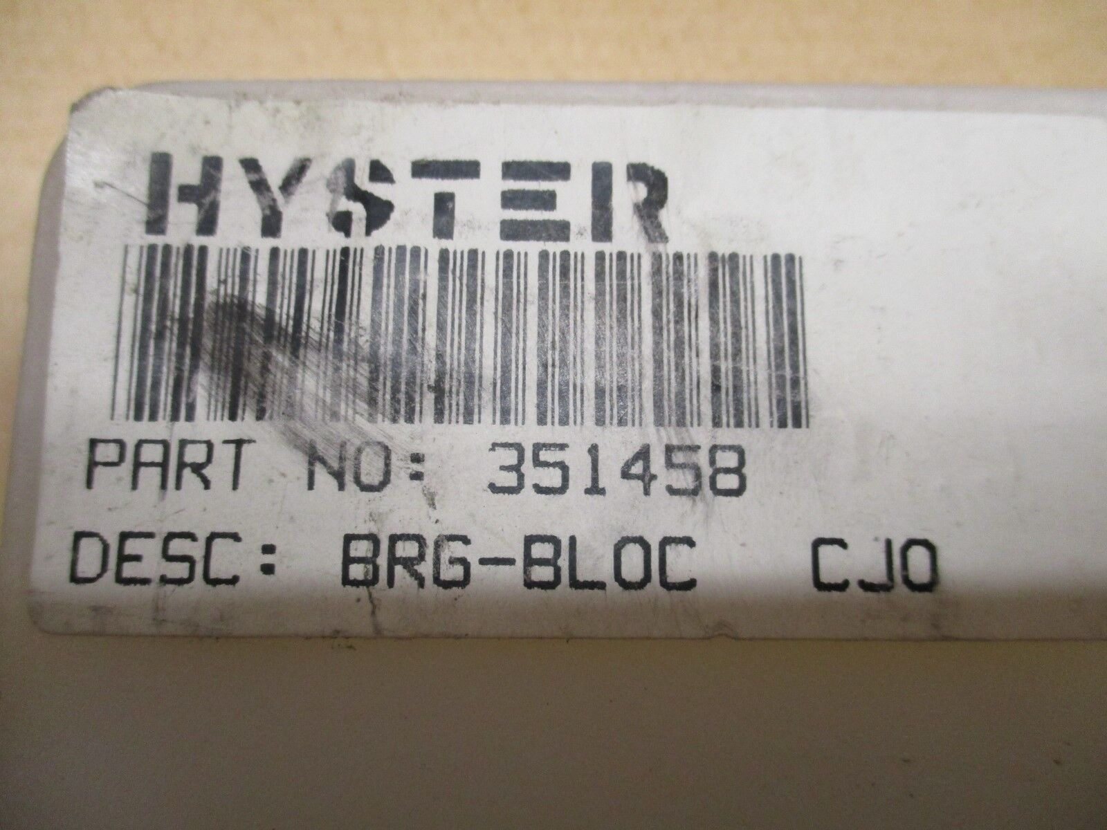 351458 Hyster Block Bearing Set Of Two