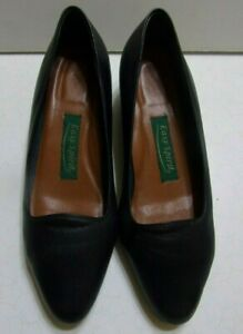 VTG-Easy-Spirit-Women-039-s-Comfort-Shoes-Size-8-B-Style-Cass-Navy-Leather
