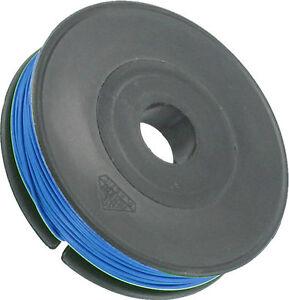 40 Meter Draht 0,33 mm AWG-22 PVC Isolierung 0,9 mm blau Neuware ...