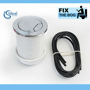 Ideal-Standard-S4498AA-Pneumatico-Doppio-Lavaggio-Bottone