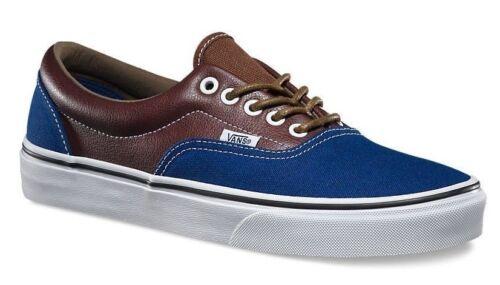 35 patins de Vans Entraîneurs Leather Eu Brown Potting Nouveau Uk Canvas Blue 3 Era PgqaAa6w
