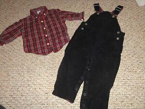 NWT Gymboree FIELD EXPEDITION Boys Size 12 18 24 Months Plaid Shirt /& Pants SET