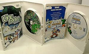 Lot of 2 Wii Games DISNEY CLUB PENGUIN GAME DAY/LINE RIDER 2 UNBOUND