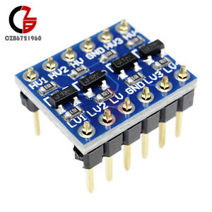 2-5-10PCS-5V-to-3-3V-IIC-I2C-Logic-Level-Converter-Bi-Directional-Module-Arduino