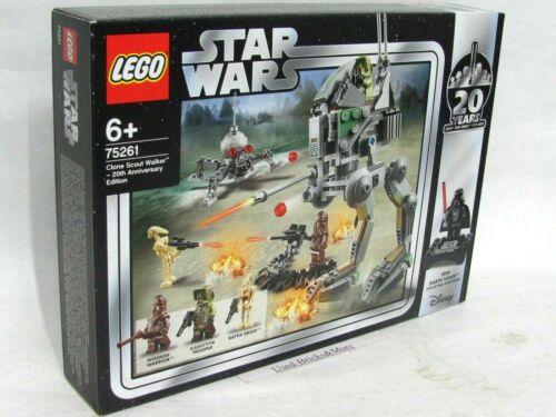 LEGO® Star Wars 75261 Clone Scout Walker 20 Jahre Figuren NEU /& OVP Darth Vader