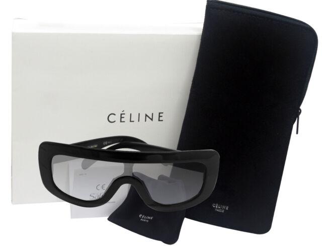 2c9c43d529d37 Céline Celine ADELE 41377 S black frame 807-N6 gray gradient lens NEW