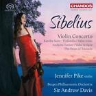 Violinkonzert op.47/Karelia-Suite/Finlandia/+ von Bergen Philharmonic Orchestra,PIKE,DAVIS (2014)